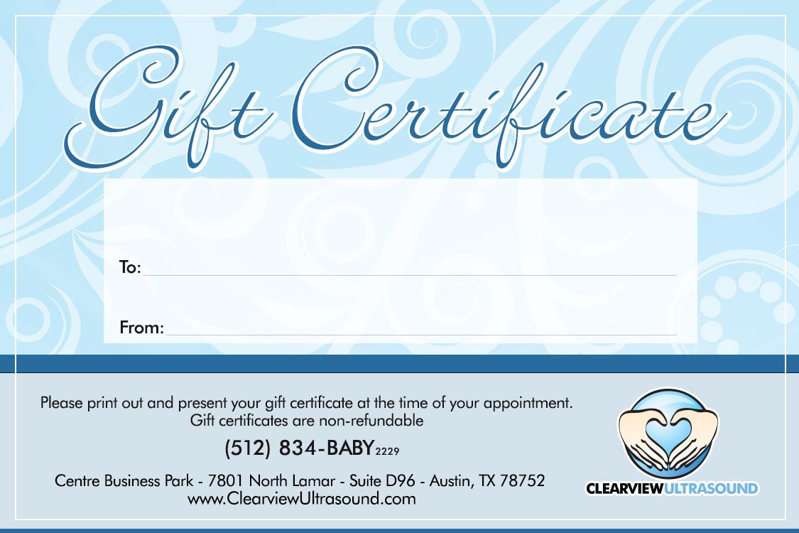 Pregnancy confirmation 2d clearview ultrasound voucher option 1 altavistaventures Images